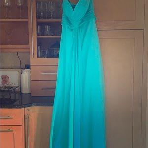 Full length prom dress
